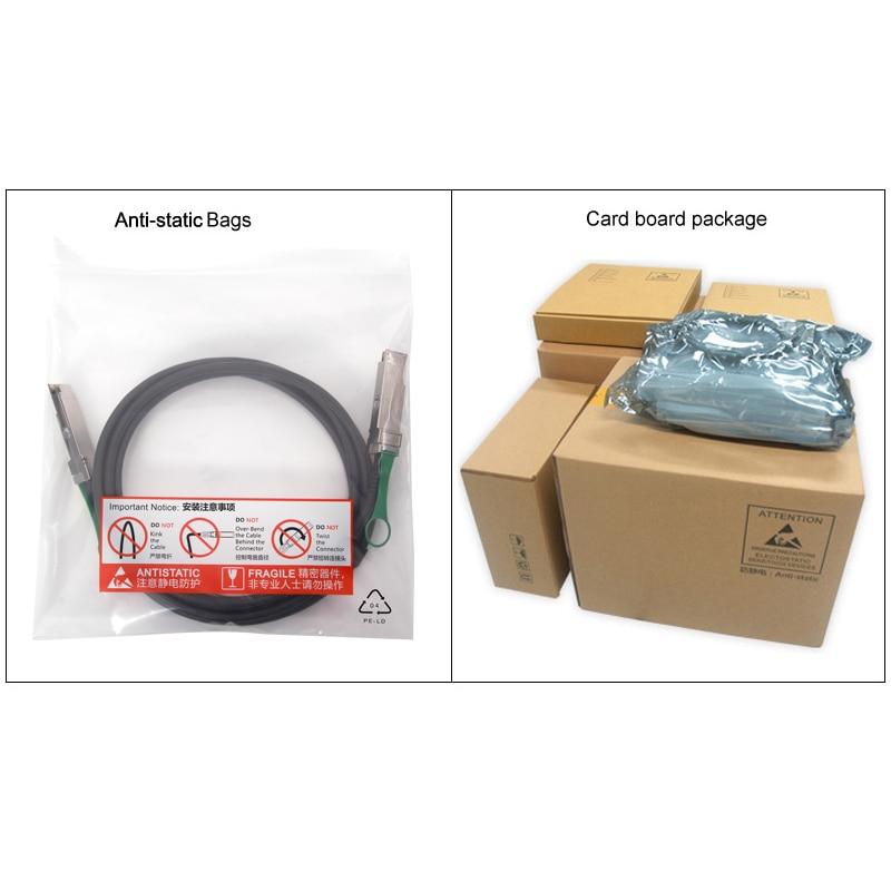 QSFP Кабел QSFP-H40G-CU2M CAB-Q-Q-2M QFX-QSFP-DAC-2M QSFP + 40G - Комуникационно оборудване - Снимка 6