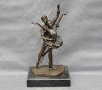 Brąz Człowieka Kobiet Taniec Art Rzeźba Statua zapalniczki narzędzia kuchenne Dekoracje 100% Mosiądz Brąz w Posągi i rzeźby od Dom i ogród na
