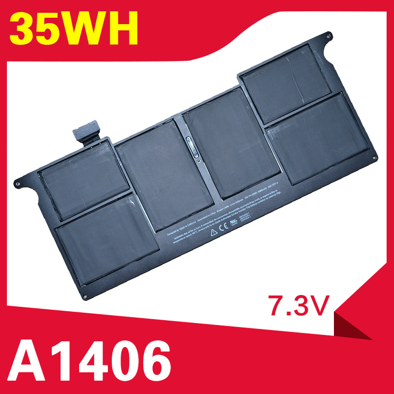 ApexWay Battery A1406 for Apple Macbook Air 11.6 A1370 MC965 for Macbook Air 11 A1465 2012 Version A1370 2011 VersionApexWay Battery A1406 for Apple Macbook Air 11.6 A1370 MC965 for Macbook Air 11 A1465 2012 Version A1370 2011 Version