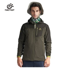 Men Softshell Jacket Joining Together Wear-resisting Warm Waterproof Outdoor Jacket Adventure Camping Climbing Hiking Jacket