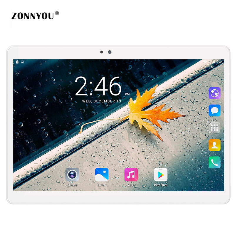10 inch Tablet PC Octa Core 4GB RAM 32GB ROM Dual SIM Cards 3G Call WCDMA Android 7.0 GPS Tablet PC 10 10.1 +Gifts