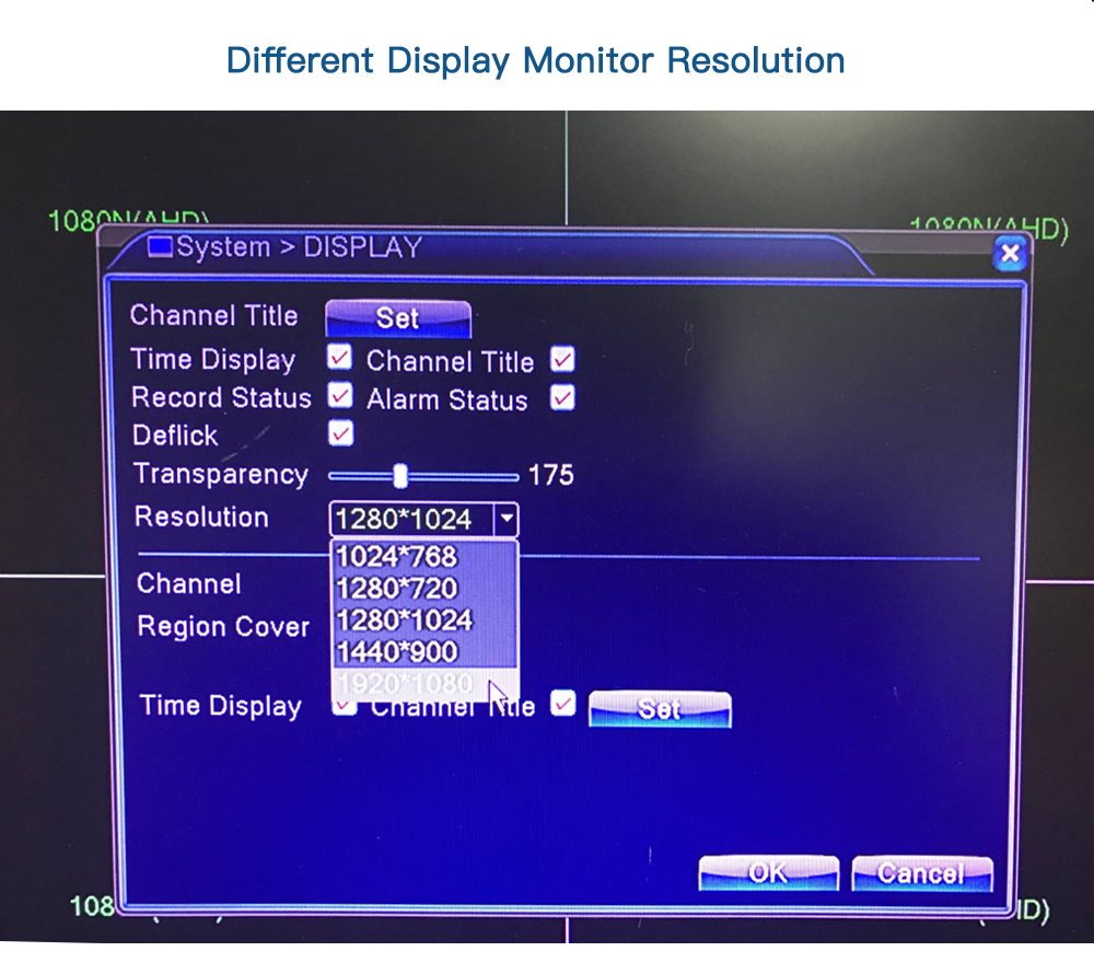 4 channel security system 4-4