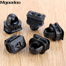 Mgoodoo 10set Auto Car Side Skrit Trim Clips Side Trim Fender Retainer Clips Accessories For Mercedes Benz C/E/CLK class