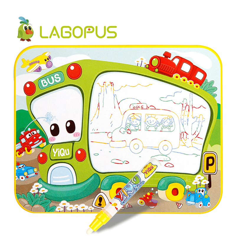 lagopus Drawing Toy Water Drawing Mat Magic Aqua Doodle Mat Board Painting Toys for Children DIY