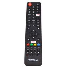 جهاز تحكم عن بعد جديد أصلي لتلفزيون تسلا LCD مع جهاز تحكم عن بعد Netflix و YouTube لـ 49T609US 55T609US Fernbedienung