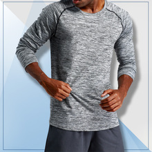 Men Running T-shirt Long Sleeve Comfortable Sport Quick Dry Compression Shirts Gym Fitness Shirt Jersey