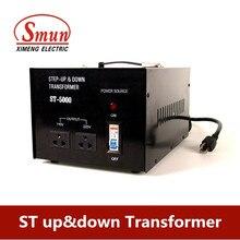 8000W home-use 220v-110v,110-220v step up&down transformer for juicer,refrigerator,microwave,printer.