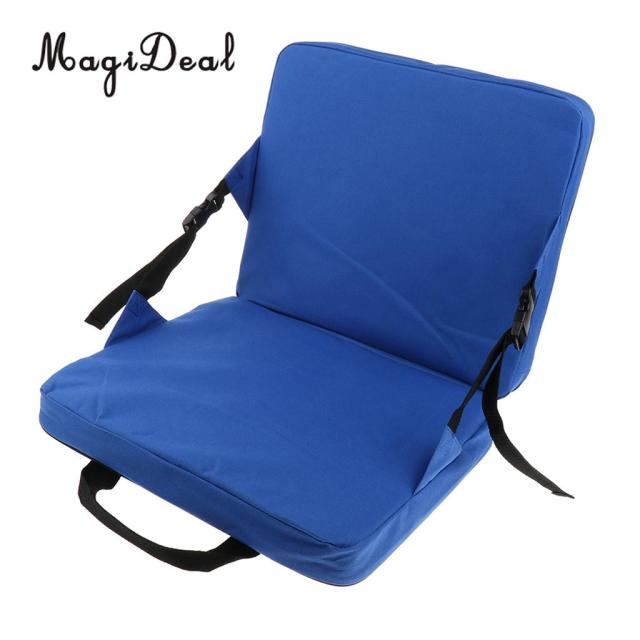MagiDeal Rocking Chair Cushions Outdoor Folding Fishing Chair Seat U0026 Back  Pad For Car Seat Stadium
