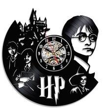 Vinyl Uhr Schlafzimmer Wand-dekor Geschenk für Harry Potter Fans