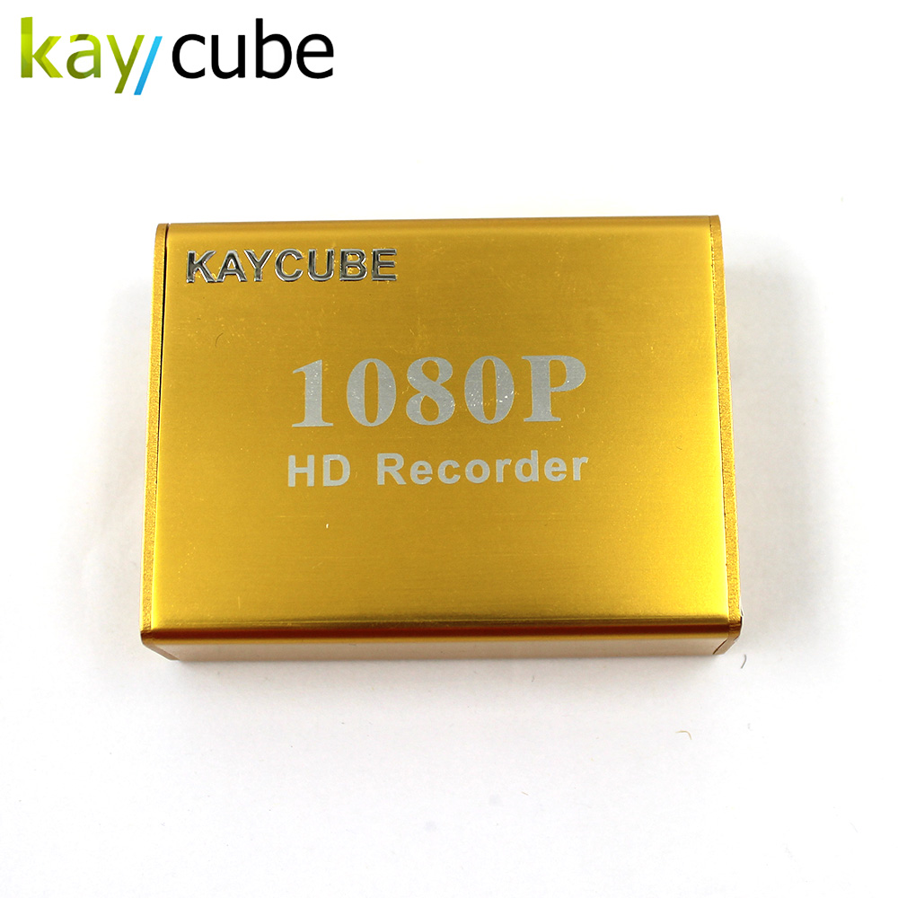 kaycube Mini AHD DVR Recorder HD 1080P Support SD Card 128GB Real time Supper 1Ch HD CCTV DVR Motion Detection 5V-30V Wide Power цена