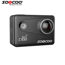 SOOCOO C100 Wifi Action 4K Sports Camera Built-in Gyro with GPS Extension(GPS Model not include)
