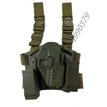 Tactical HK USP Thigh Holster Compact Gun leg Holsters shooting Hunting Accessories with Magazine Pouch  US P