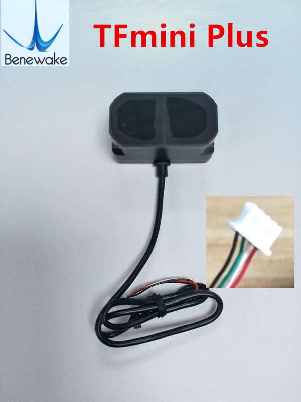 Benewake TFmini más LiDAR módulo sensor de distancia corta IP65 Micro de un solo punto TOF compatible con ambos UART IIC I/O-in control remoto inteligente from Productos electrónicos    1