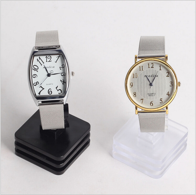 Wholesale C shape display Holder for watches Jewelry Exhibitor Set