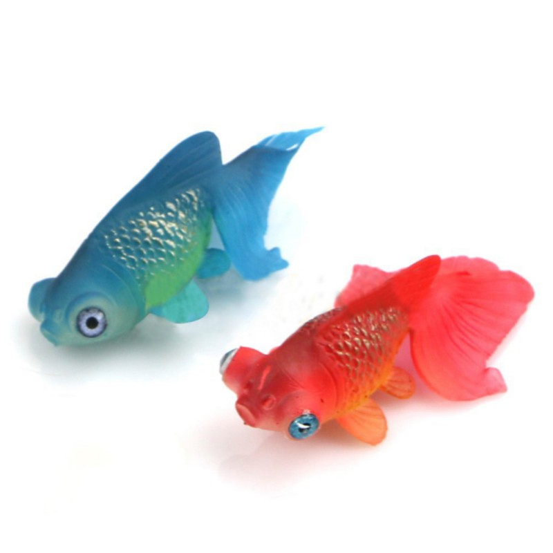Funny Artificial Aquarium Silicone Swim Robofish Toy Fish Robotic Pet Fishing Tank Aquarium Decoration