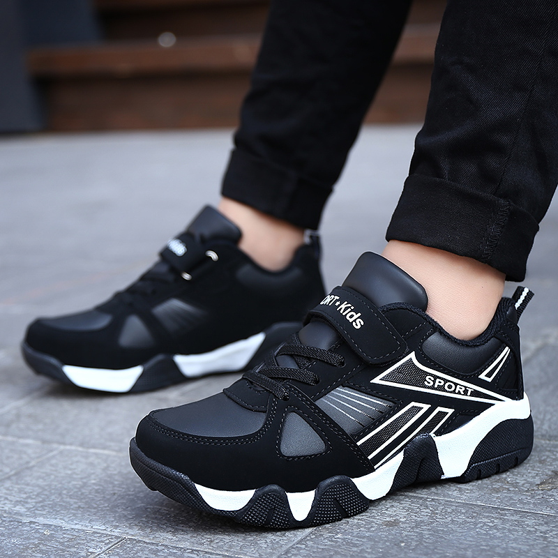 2019 New Fashion Autumn Children Shoes Sports Outdoor Boys Shoes Training Waterproof Kids Girls Shoes Casual Boys Shoes 968 in Sneakers from Mother Kids