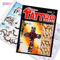 Hot Koop Tattoo Schets Referentie Boek Hoge Kwaliteit Schets Flash Boek Voor Tattoo Supplies