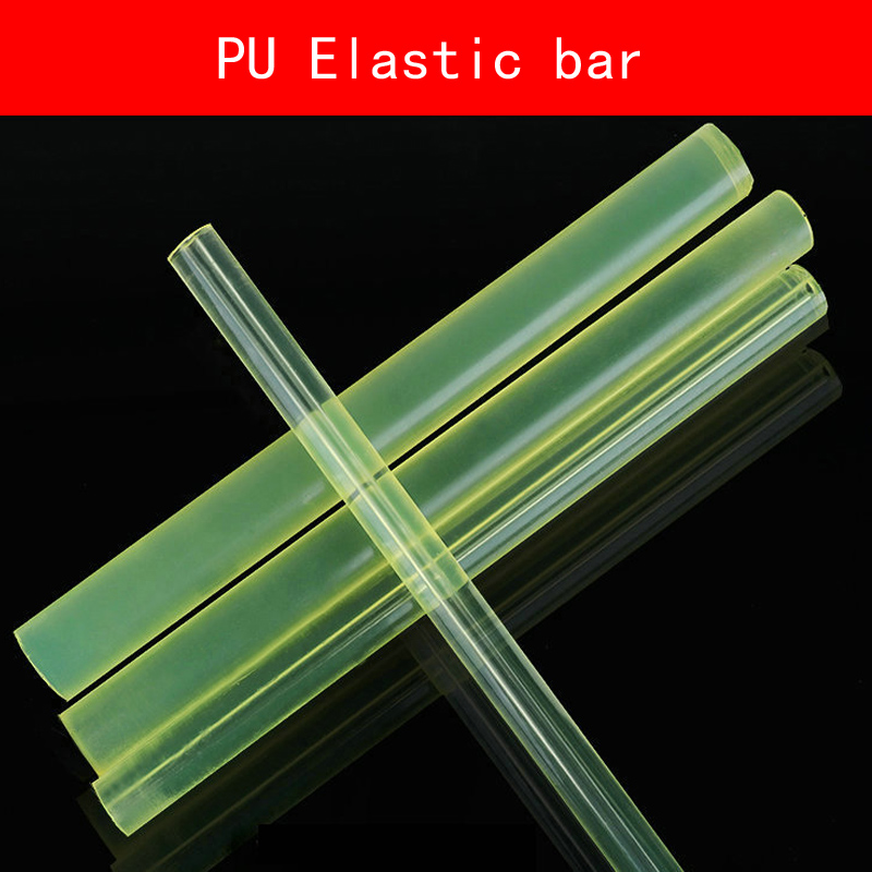 Tools Pu Elastic Pipe Hole Rod Pu Round Tube Rubber Polyurethane Dichotomanthes Die Pad Mould Sealing Hollow Bar Diy Round Stick Easy To Lubricate