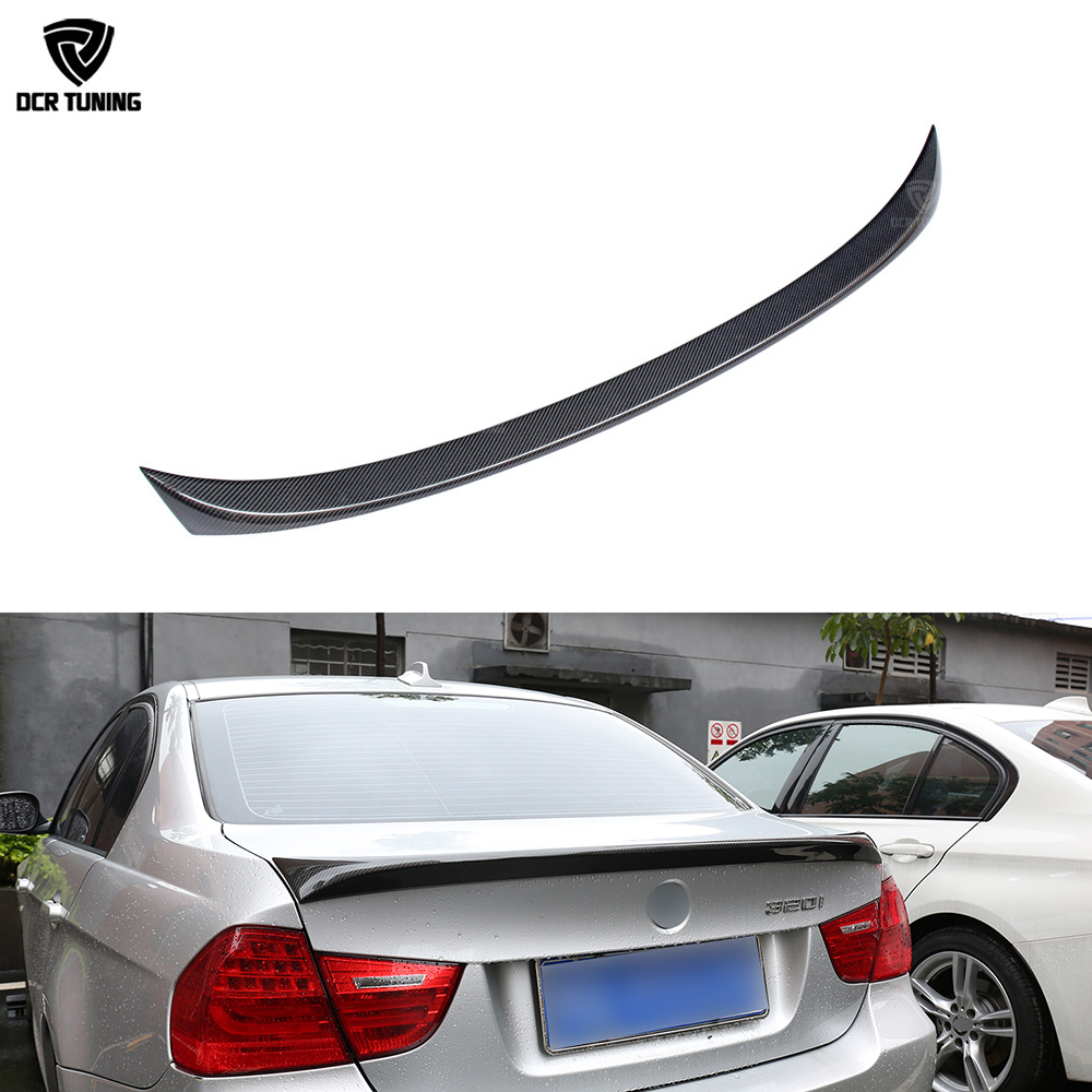 For Bmw E90 Spoiler E90 E90 M3 Carbon Fiber Rear Trunk