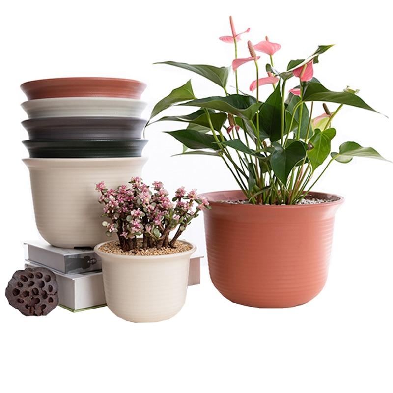 Kitchen Garden Pots: 12 Pcs Pots Balcony Kitchen Succulent Plants Flower Pot