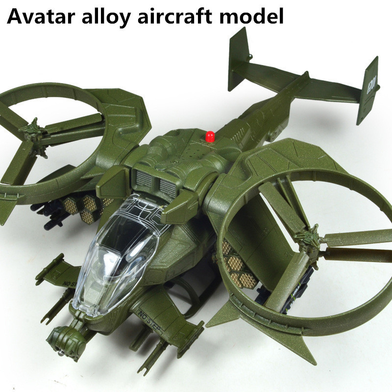 Avatar Scorpion helicopter model, collection model alloy Airplane model Toy Vehicles , Diecasts Airplanes toys, free shipping image