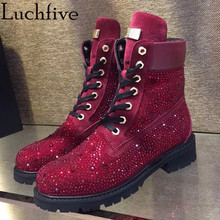 Buy bling bling boots and get free shipping on AliExpress.com 7936399f819e