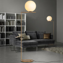 JAXLONG Modrn Gold Iron Floor Lamp E27 Crystal Light LED Foyer Study Dinning Room Bedroom Living Hotel Decorative