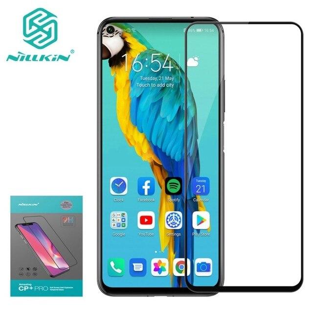 Dành Cho Huawei Honor 20 Kính Cường Lực Pro Glass Nillkin CP + PRO 9H Full CoverTempered Kính Cường Lực Bảo Vệ Màn Hình Trong Cho Huawei Honor 20S 6.26 Inch
