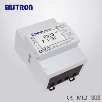 SDM630-MT MID, Multi Tariffs , Multifunction, Three Phase Four Wire Din Rail Energy Meter, RS485 Modbus RTU and Pulse Output