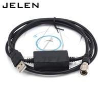 Hirose stecker 6pin zu USB stecker für Topcon USB daten kabel für Topcon Sokkia total station fit Win7/8 /10 system-in Steckverbinder aus Licht & Beleuchtung bei