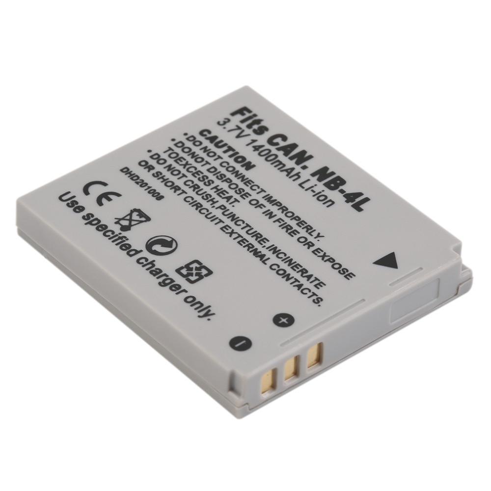 Watson NB-12L Lithium-Ion Battery Pack (3.7V, 1800mAh) B