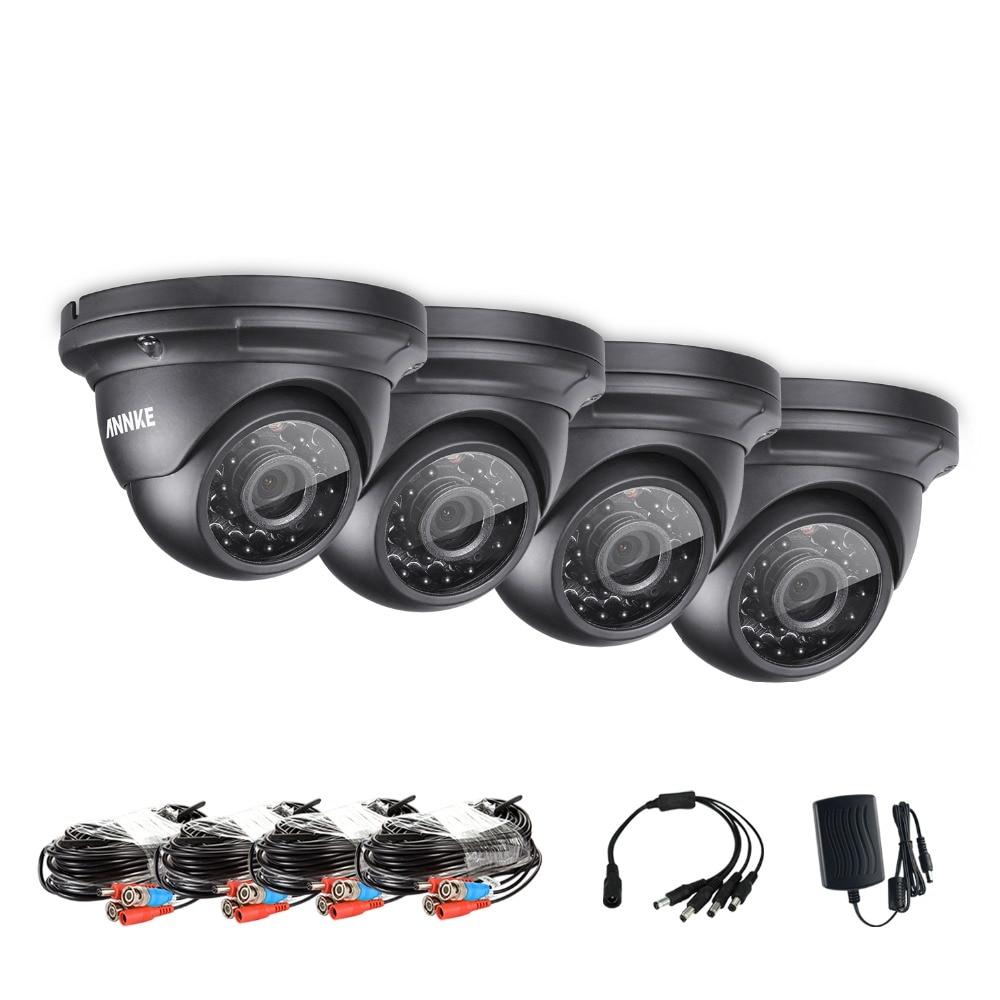 ANNKE Infrared CMOS Real 960P 1500tvl CCTV Camera HD Infrared Surveillance Camera Indoor/outdoor Security Bullet AHD Camera