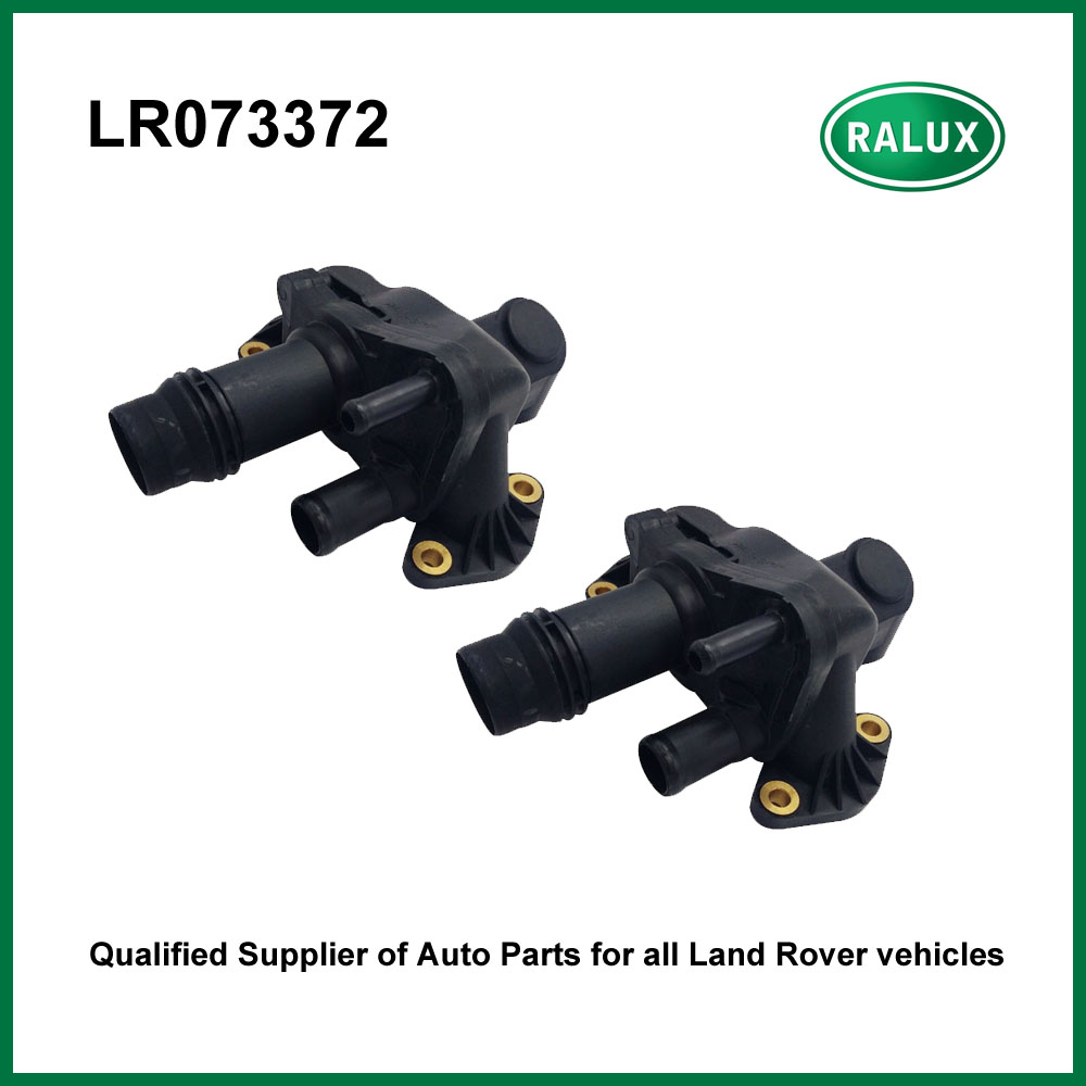 2 PCS Auto thermostat hosing for Range Rover Discovery 3/4 Range Rover Sport All New Discvoery 17- car engine parts LR073372 sale differential dpf intake air pressure sensor for rover discovery 3 4 range rover sport iii lm 6g9n5l200aa 6g9n5l200ab