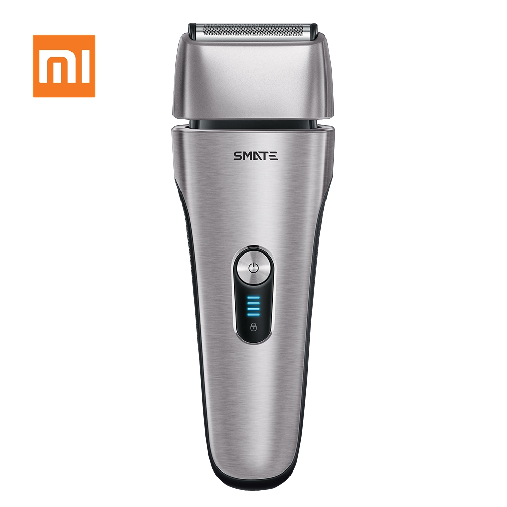 Xiaomi Mijia SMATE rasoir électrique alternatif 4 lames rasoir électrique 3 minutes Charge rapide résistant à l'eau hommes rasoir mâle
