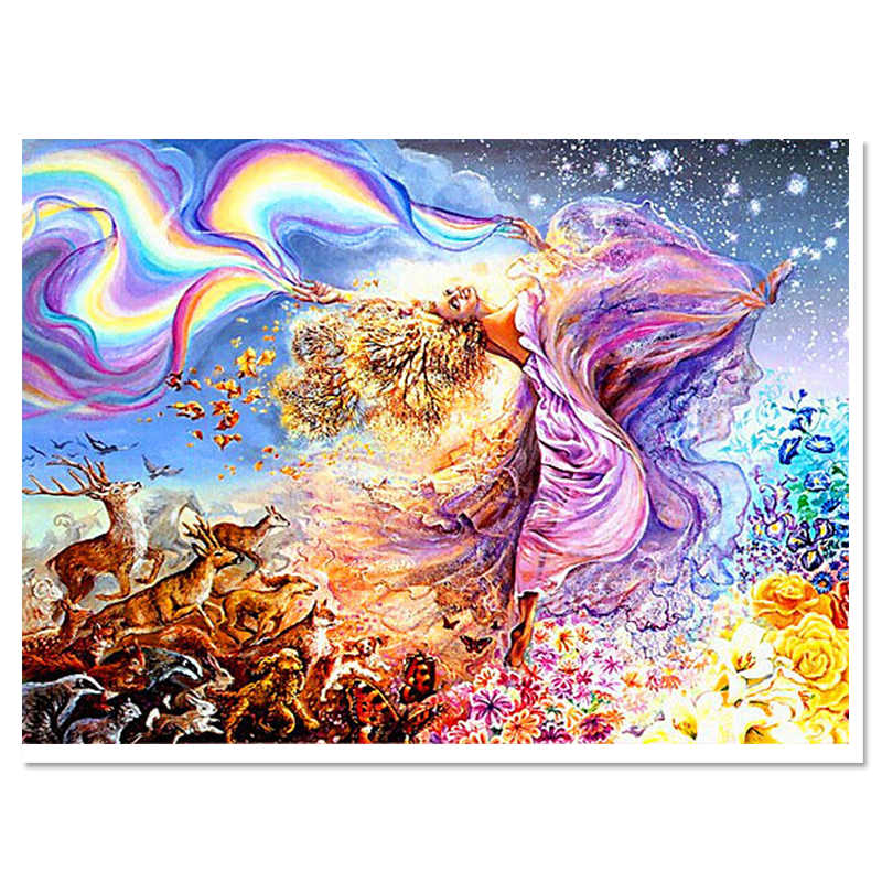 ce82397797c time-limited 2017 Diamond sequins embroidery europe resin paintings scenic  handmade home decoration full square