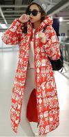 새로운 패션 긴 여성 파카 소녀 이모티콘 다운 재킷 겨울 고양이 블레이져 사랑스러운 재킷 두꺼운 kawasak 코트 여성 윈드