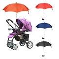 Cochecito de bebé Accesorios Solid Umbrella Kids Niños Cochecito de bebé Sombrilla Sombra Portátil Plegable Ajustable para la Silla