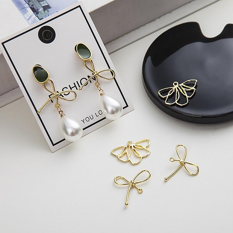 Japanese and Korean Earrings Accessories Pendant Jewelry Making Supplies DIY Jewelry Findings Wholesale Lots Bulk 10PCS