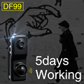 DF99 Human Body Induction Camera Ultra Small Hidden Integrated Camera Mini Monitor Head Spy Home Security Cam