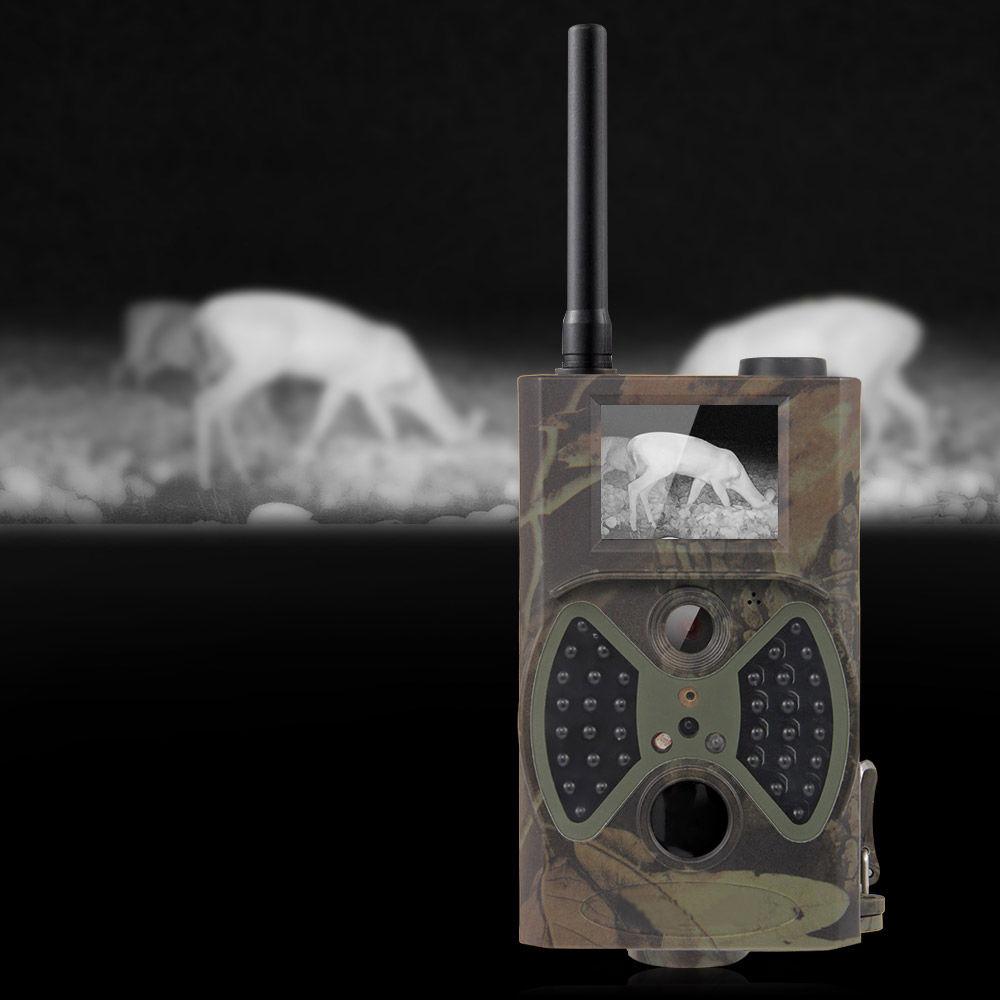 Scouting hunting trail camera HC-300M HD GPRS MMS Digital Infrared Trail Camera GSM IR Hunter Camera free shipping hc600g scouting hunting camera trap 16mp hd 1080p gprs mms 3g digital infrared trail cameras ir hunter camcorder