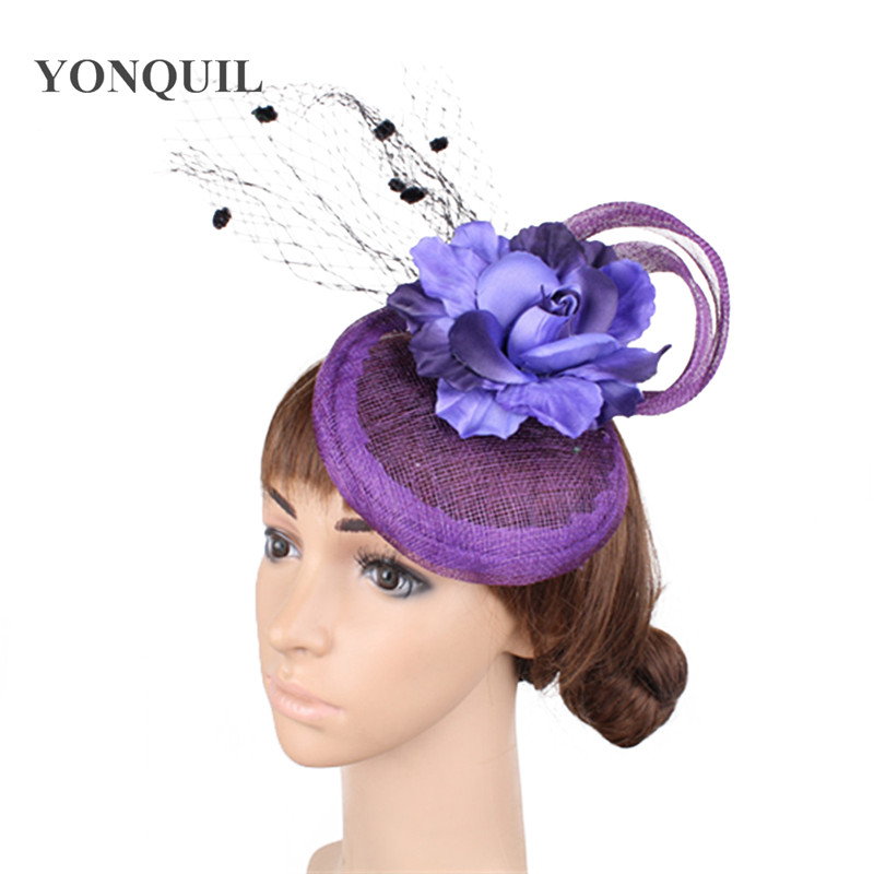 f8e159f6fbe Elegant Wedding Cocktail Hats For Women nice big bowknot Design Banquets  Ladies Summer Occasion Event Race NEW ARRIVAL 17 colorsUSD 18.99 piece