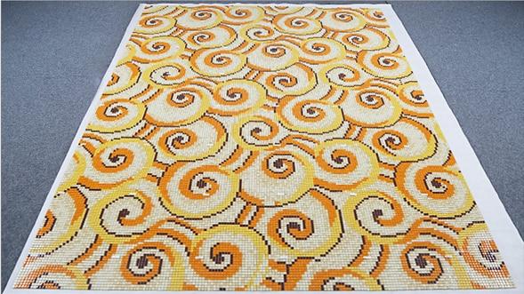 bisazza mosaics glass flower pattern interior wall design ideas backplash kitchen mosaic art shower wall mosaic