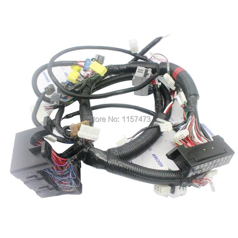 ZX200-1 ZX200 Cabo Cablagens 0003322 para Hitachi Escavadeira Fio Interno Interno