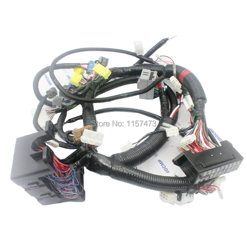 ZX200-1 ZX200 Iç Kablo Demeti 0003322 Hitachi Ekskavatör için Iç Tel Kablo
