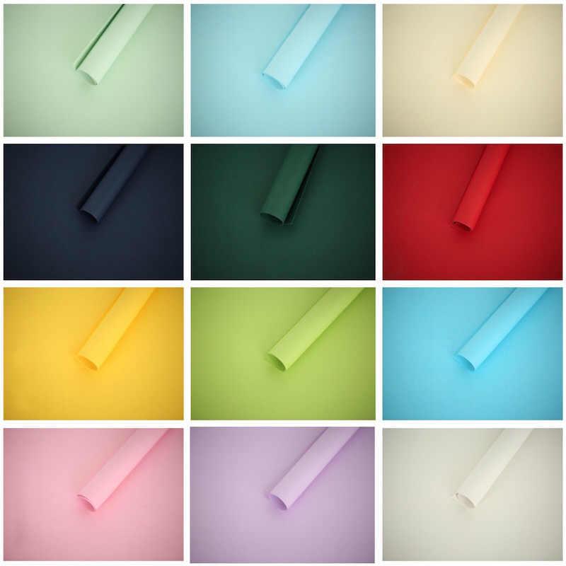 80x54cm colores gruesos de cartón mate Exterior INS accesorios de estudio de fotografía accesorios de fondo para cosméticos zapatos de joyería