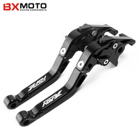 With Logo X ADV Motorcycle CNC Adjustable Extendable Brake Clutch Levers For Honda XADV 750 2017