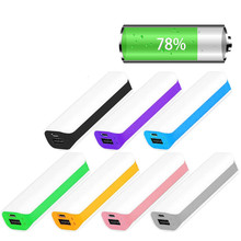 Portable 1 x 18650 External Battery Case Charger Power Bank Case DIY Box #4XFC#Drop Shipping