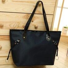 High Quality Waterproof Women Nylon Handbag Ladies Messenger Bags Handbags Famous Brand Large Tote Hobos Ladies Shoulder Bag