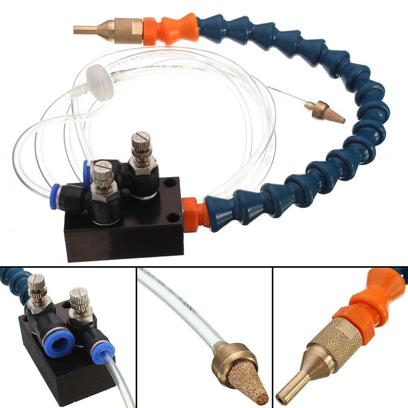 1pc Mist Coolant Lubrication Spray System High Quality Mist Coolant System For 8mm Air Pipe CNC