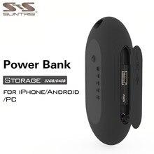 Suntrsi USB Flash Drive External Storage Power Bank 32GB 64GB New Design pendrive for iPhone6 6s